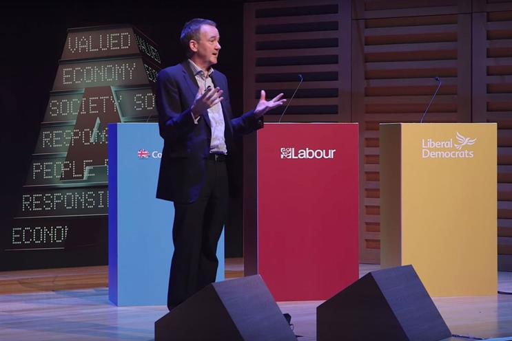 Duncan: told Lead 2015 conference that adland needed to take its responsibilities more seriously
