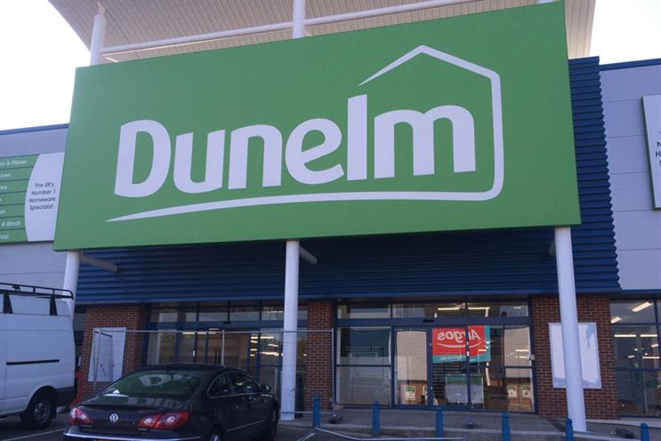 Dunelm: seeking shop for creative account