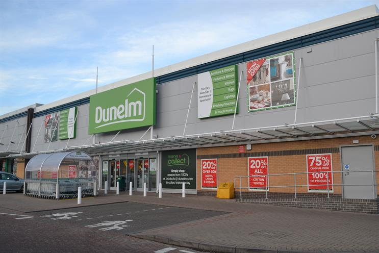 Dunelm: 101 has been handed its creative account