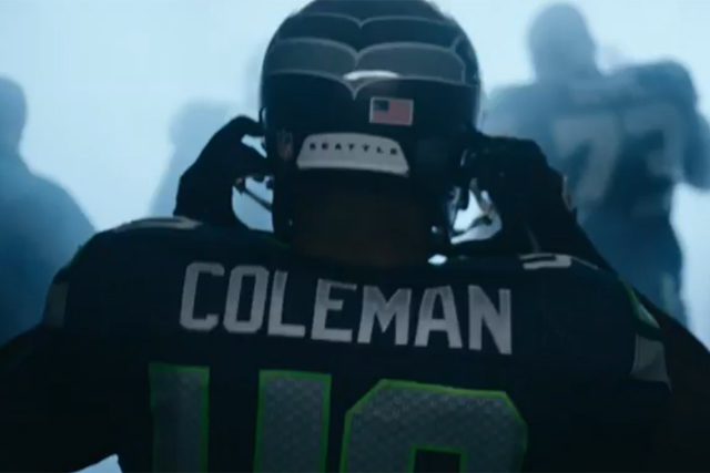 Deaf NFL player Derrick Coleman declares he can hear the crowd in Duracell ad