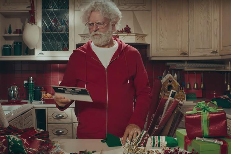 Duracell imagines Santa as a suburban dad