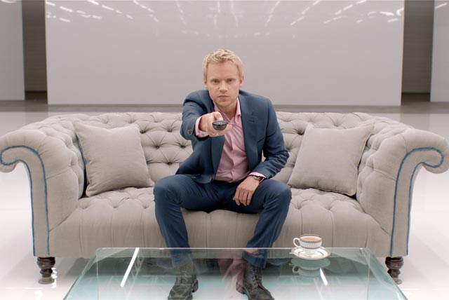 Virgin Media: actor Marc Warren stars in TiVo ad campaign