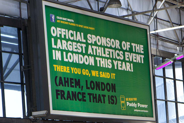 Paddy Power: escapes radio ad ban