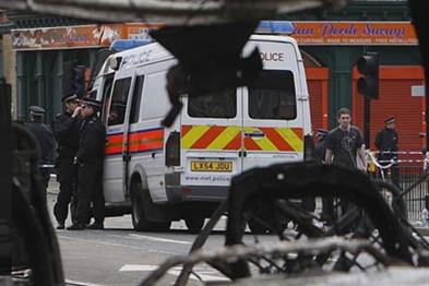 London Riots: scenes like this prompted VisitBritain to suspend its ads