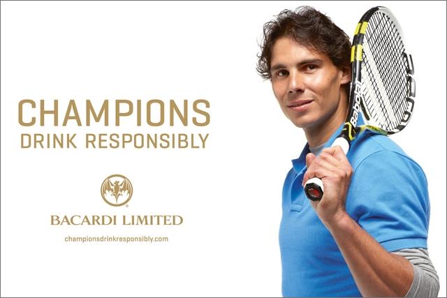 Rafael Nadal: Bacardi's new social responsibility ambassador