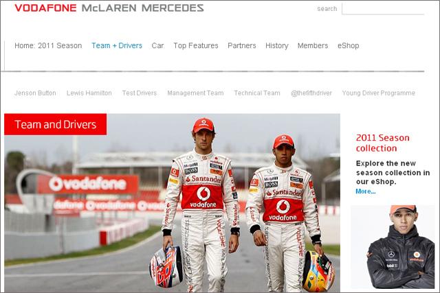 McLaren shifts digital focus to fan experience