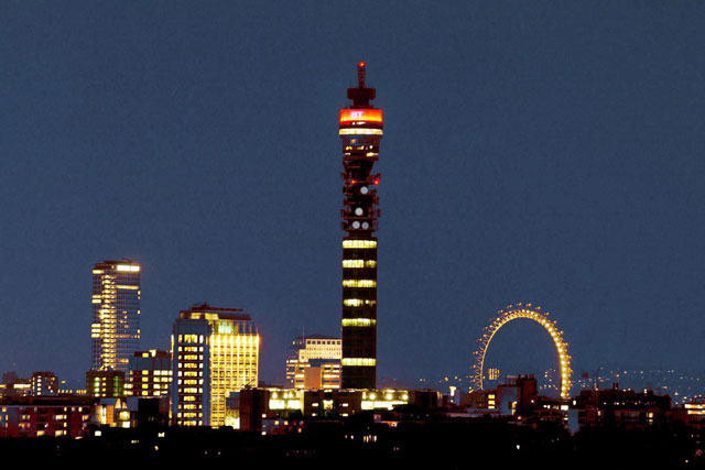The BT Tower: new transmitters boost DAB in London