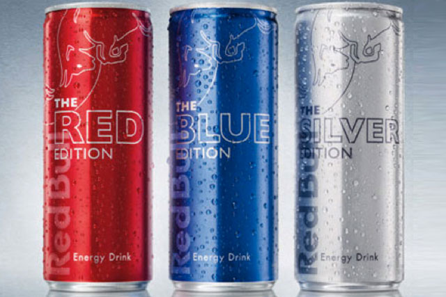 Red Bull: the Edition range