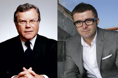 Sir Martin Sorrell and James Murphy...legal battle