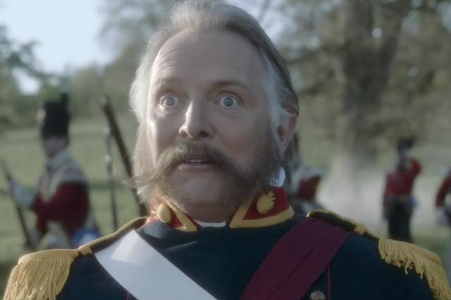 Bombardier: Rik Mayall stars in beer brand's TV campaign