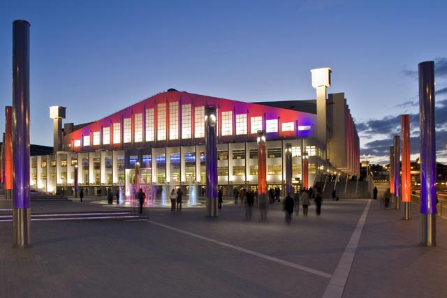 Wembley Arena: included in MediaCo Outdoor's Wembley City contract