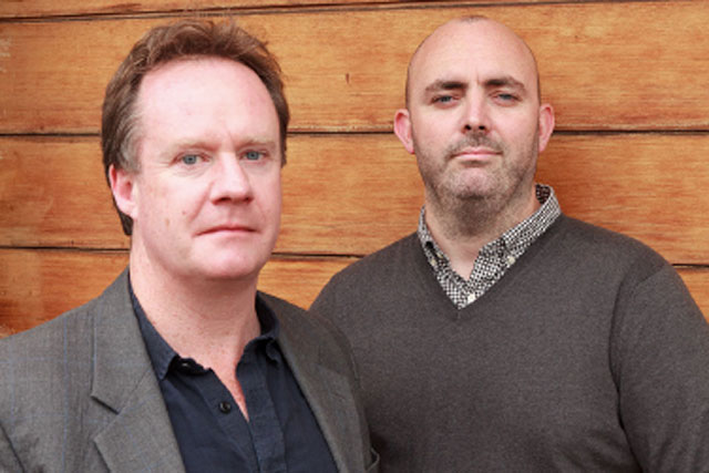Ben Stephens (l) and Jamie Bell: VCCP me managing partner and creative partner