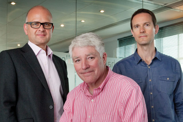 TMW management line-up: (l-r) Chris Freeland, Richard Marshall and Chris Pearce