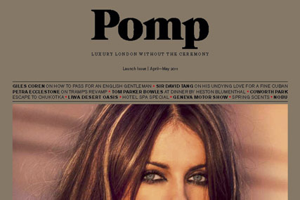 Pomp: new magazine launch