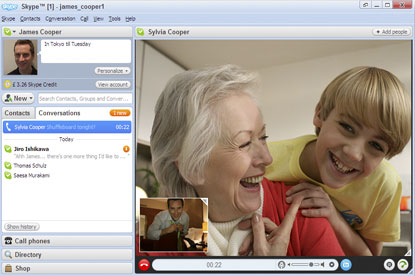 Skype…conflict with Vonage account