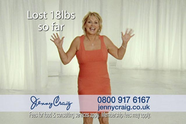 Jenny Craig: appoints Arena Media to its £2m media account