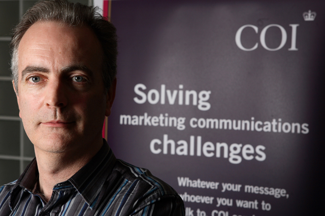 Mark Cross: takes responsibility for media buying at COI (picture credit: Belinda Lawley)