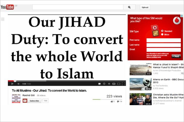 YouTube: the Daily Mail questions the use of ads on the site