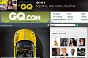 GQ.com...revamp by Condé Nast