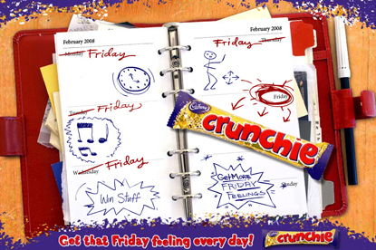 Cadbury gives away Crunchies in new campaign