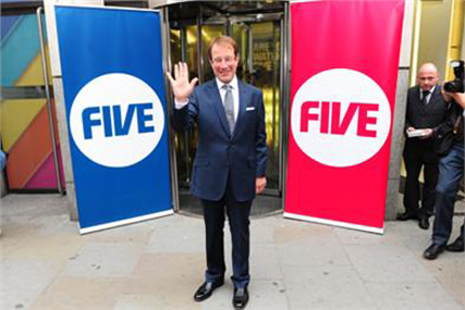 Richard Desmond: owner of NOrthern & Shell and Channel Five