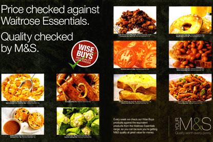 M&S... ad campaign