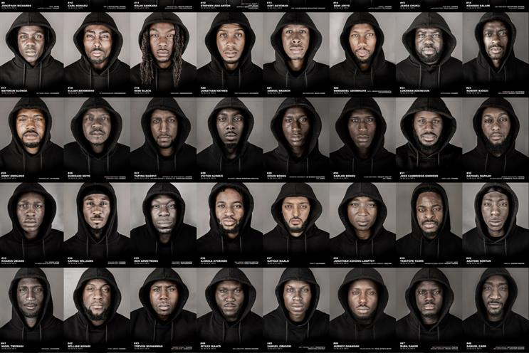 '56 black men': aims to reduce negative stereotypes of black men