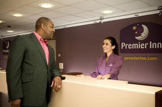 Lenny Henry in Premier Inn ad