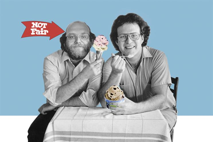 Ben & Jerry's: brand announced Facebook boycott on Twitter