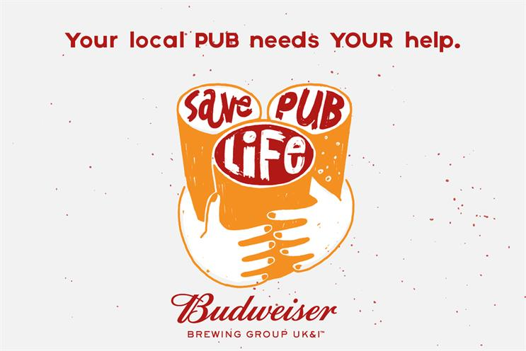 Budweiser: initiative aims to support local pubs