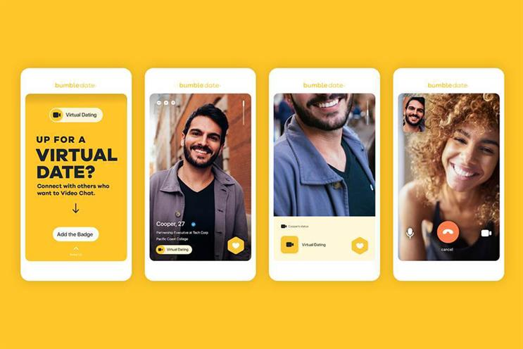 Bumble: launched features to encourage virtual dating
