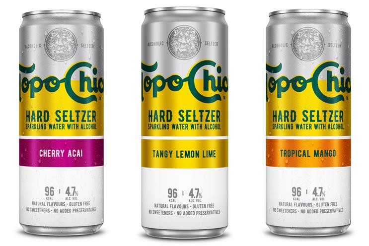 Topo Chico: drink contains 96 calories