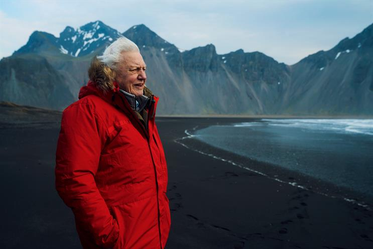 Attenborough: narrates content featured on Spotify