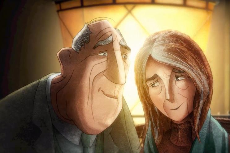 Dementia UK: Goldstein won a Creativepool award this year