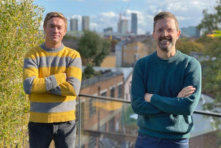 Friendly Giants: agency created by Sam d'Amato (left) and Gavin Leisfield