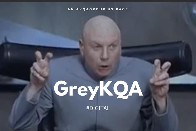 GreyKQA: site carries assurance that it is 'not an S4 company'