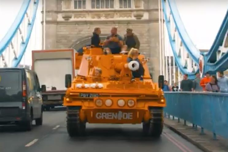 Grenade: protein brand won £10,000 free airtime