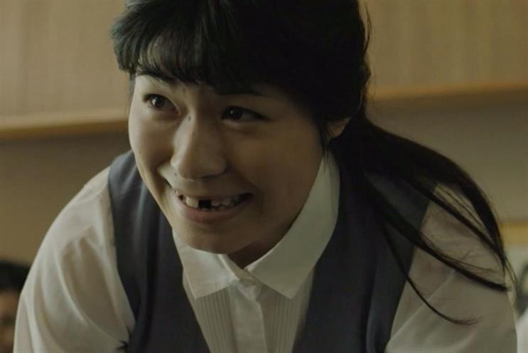Guinness: ad last year featured pioneering Japanese female rugby team