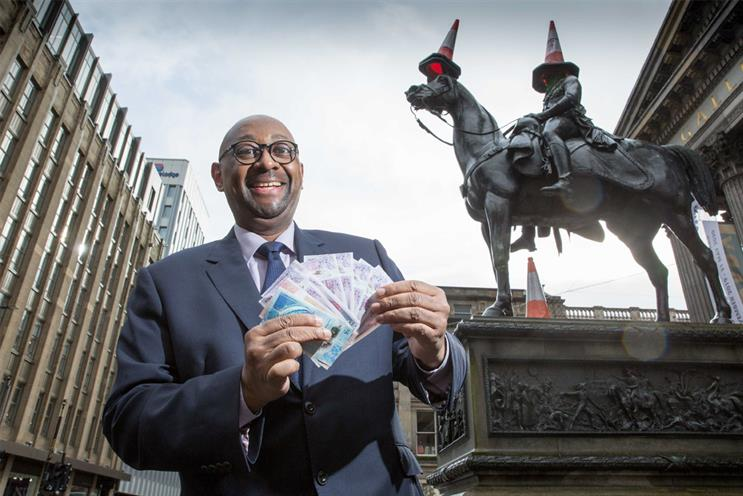 RBS: Brown visited Glasgow and Edinburgh branches