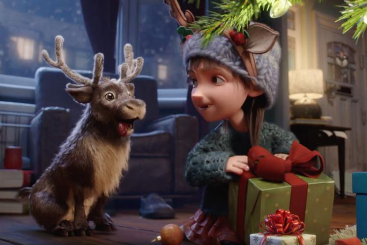McDonald's: ad follows last year's '#ReindeerReady' spot