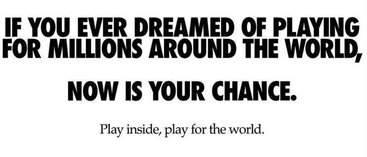 Nike: brand encourages football fans to 'play inside'