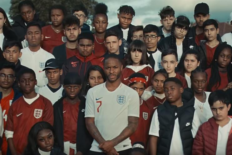 Nike: ad promotes work with Brent's next generation of footballers