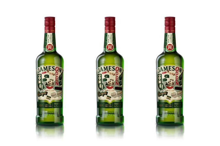 Jameson: new label features booze-related phrases