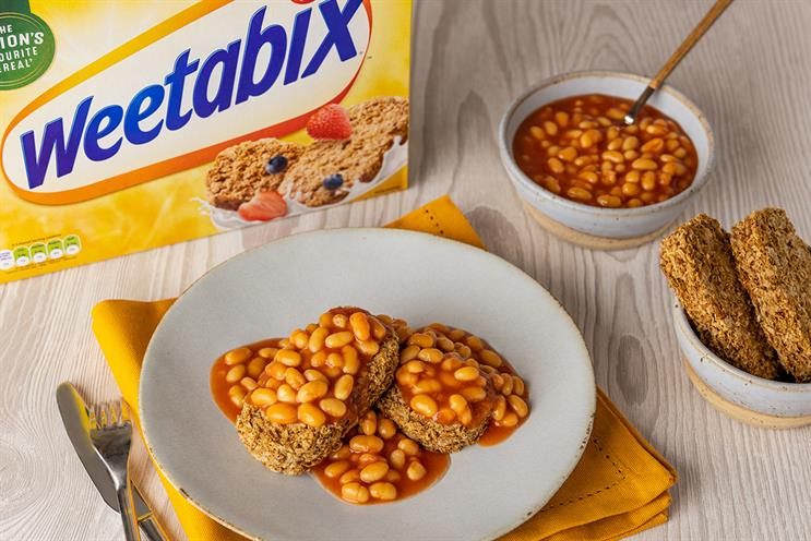 Weetabix: brand caused controversy with image of baked beans