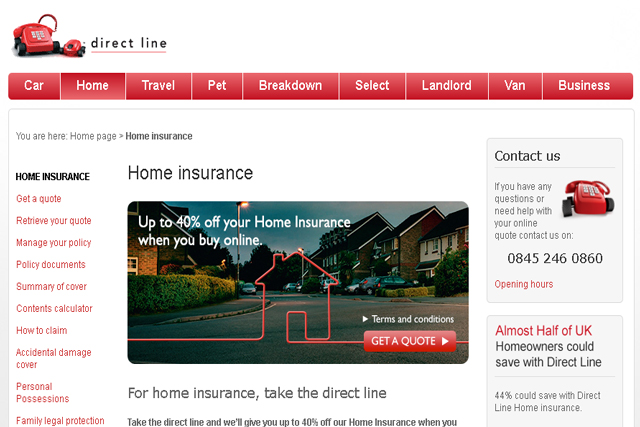 Sector Insight Interactive Home Insurance