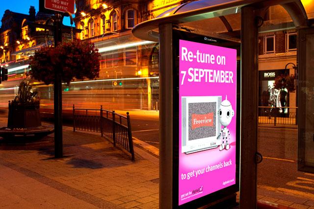 Digital UK: MediaCom win