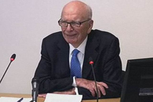 Rupert Murdoch: News Corporation chairman appears at the Leveson Inquiry