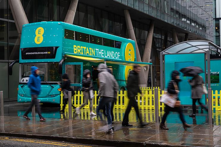 EE: bus will visit cities where EE has switched on 5G network