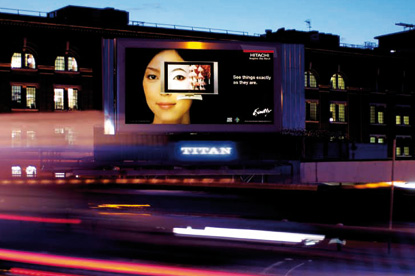 Outdoor…combating declines in ad revenue