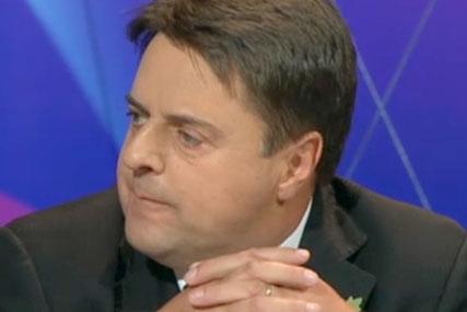 Nick Griffin: BNP leader stays silent over Marmite claim